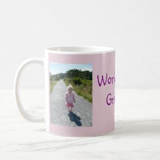 La mejor taza del collage de la foto de la abuela