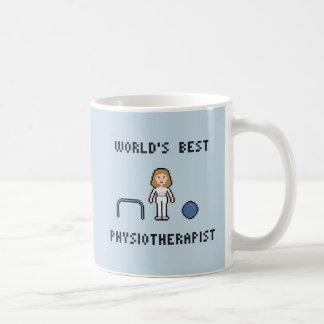 La mejor taza del fisioterapeuta de 8 mundos del