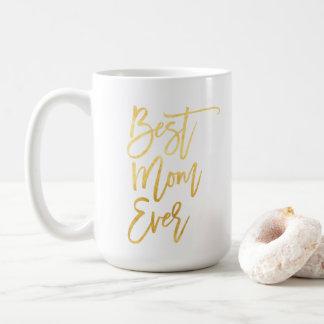 La mejor taza del oro de la mamá nunca