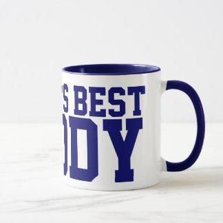 La mejor taza del papá del mundo