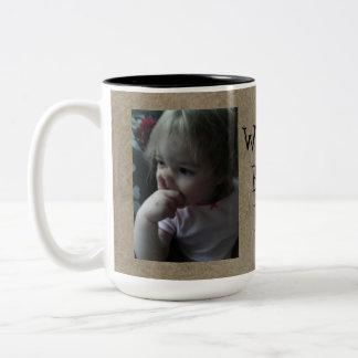 La mejor taza del papá del mundo divertido
