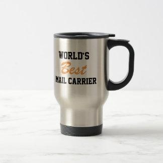 La mejor taza del viaje del cartero del mundo
