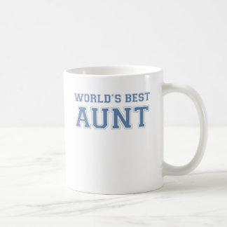 La mejor tía de los mundos taza clásica