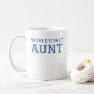 La mejor tía de los mundos taza de café