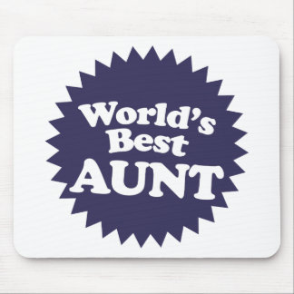 La mejor tía del mundo alfombrilla de ratones