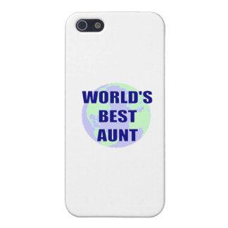 La mejor tía del mundo iPhone 5 cárcasa