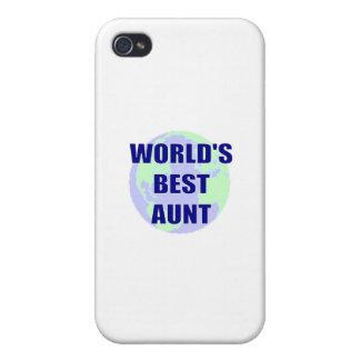 La mejor tía del mundo iPhone 4/4S funda