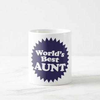 La mejor tía del mundo tazas de café
