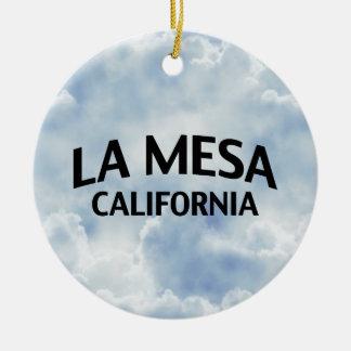 La Mesa California Ornamento Para Arbol De Navidad