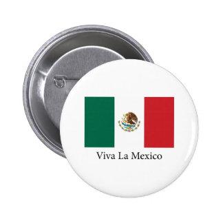 La México de Viva Chapa Redonda De 5 Cm