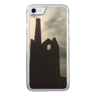 La mina del país de Poldark arruina Cornualles Funda Para iPhone 7 De Carved