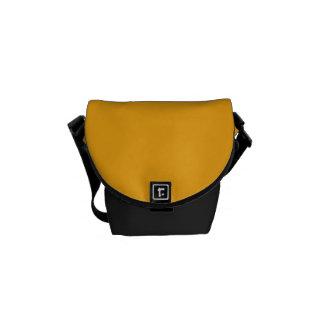 """La mini bolsa de mensajero: """"Amarillo de la Bolsa De Mensajeria"""