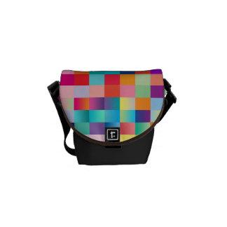 """La mini bolsa de mensajero: """"Multi coloreada"""" Bolsas De Mensajeria"""