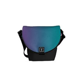 """La mini bolsa de mensajero: """"Púrpura y trullo Bolsas Messenger"""