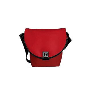 """La mini bolsa de mensajero: """"Rojo"""" Bolsa Messenger"""