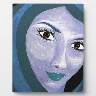 LA MIRADA (azul) Placa Expositora