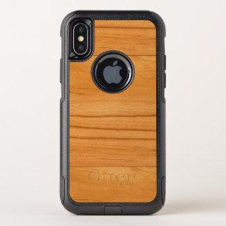 La mirada de la textura del grano de madera de