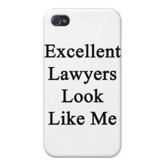 La mirada de los abogados de Exent tiene gusto de  iPhone 4 Fundas