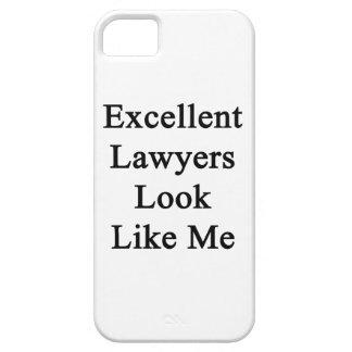 La mirada excelente de los abogados tiene gusto de iPhone 5 Case-Mate carcasas