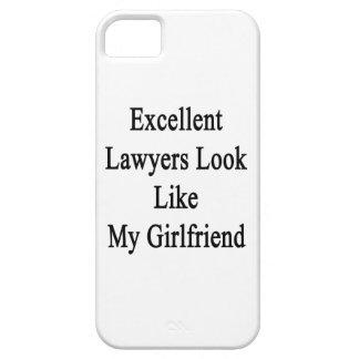 La mirada excelente de los abogados tiene gusto de iPhone 5 cobertura