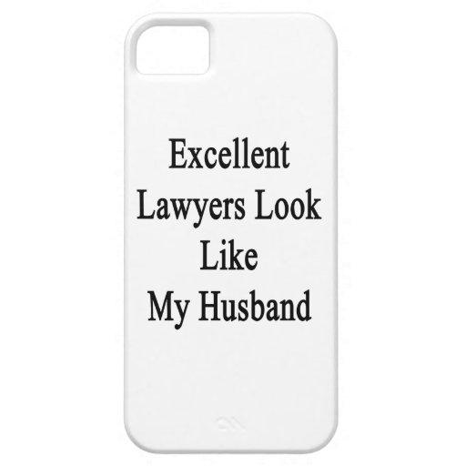 La mirada excelente de los abogados tiene gusto de iPhone 5 Case-Mate cárcasa