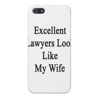 La mirada excelente de los abogados tiene gusto de iPhone 5 cárcasa