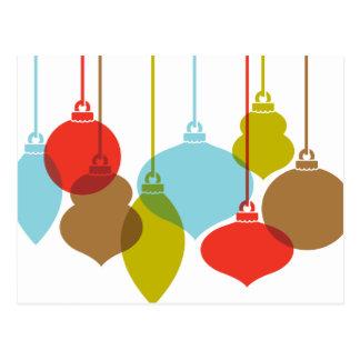 La MOD adorna la postal retra del navidad