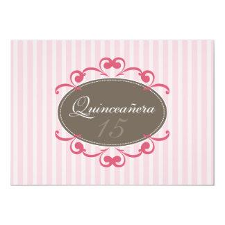 La moda raya la invitación de Quinceanera (subió)