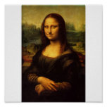 La Mona Lisa de Leonardo da Vinci C. 1503-1505 Posters