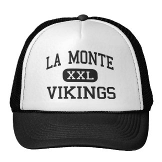 La Monte - Vikingos - altos - La Monte Missouri Gorras