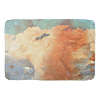 La monzón en colores pastel se nubla la estera de