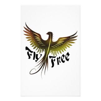 La mosca libera papelería