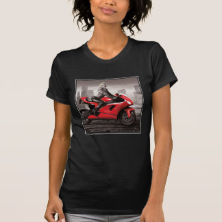 La motocicleta de Marilyn Camiseta