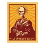 La Muerta Lisa Postal