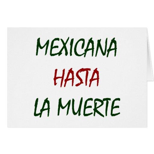 La Muerte de Mexicana Hasta Felicitaciones