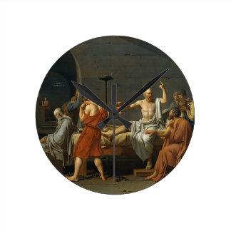 La muerte de Sócrates Reloj Redondo Mediano