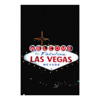 La muestra de Las Vegas - recepción a Las Vegas Papeleria De Diseño