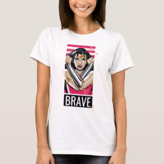 La Mujer Maravilla defiende - la plantilla Camiseta
