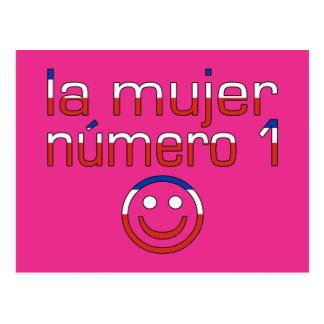 La Mujer Número 1 - esposa del número 1 en chileno Postal