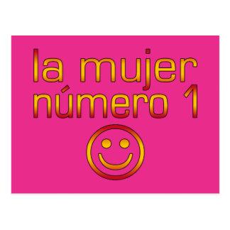 La Mujer Número 1 - esposa del número 1 en español Postal