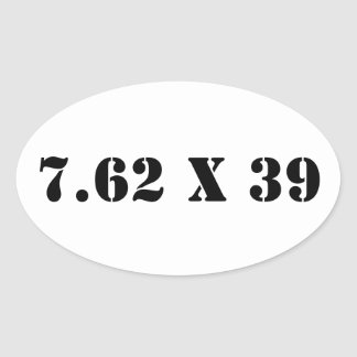la munición 7.62x39 puede pegatina
