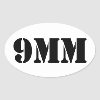 la munición de 9m m puede pegatina
