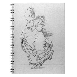 La musa de la danza, placa VI de una estafa de la  Libretas