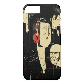 La música conecta a gente funda iPhone 7