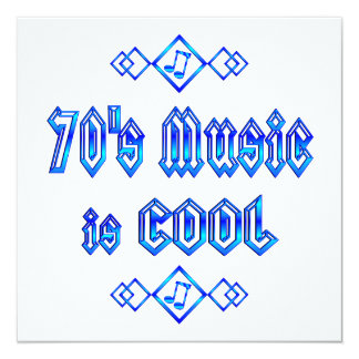 la música de los años 70 es fresca anuncio