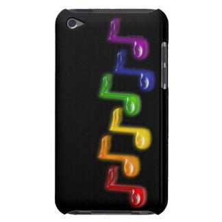 La música del arco iris observa la caja de iPod iPod Touch Cárcasas