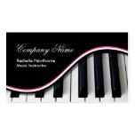 La música del piano cierra rosa del ~ de las tarje