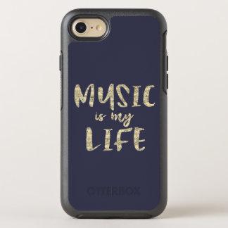 La música es mi cita de la vida funda OtterBox symmetry para iPhone 8/7