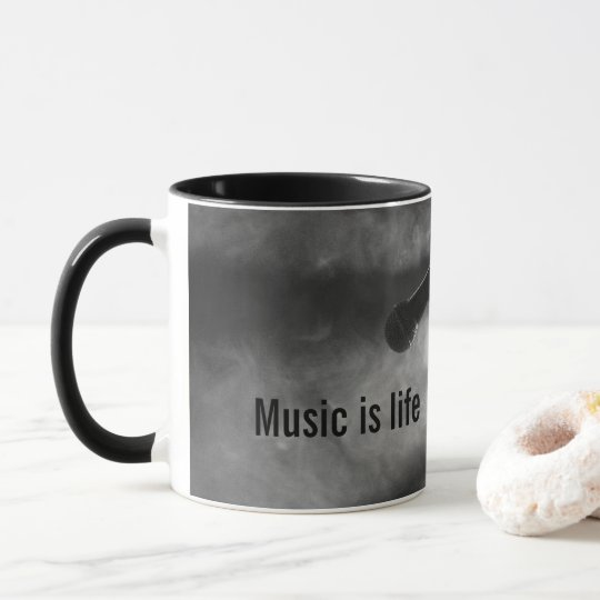 La música es taza de la vida