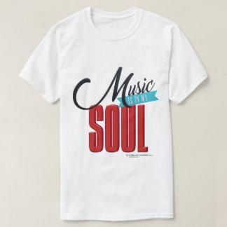La música está en la camiseta de mis hombres del